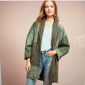 Anthropologie Hei Hei Patchwork Kimono Jacket